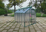 2.1m*3.5m Polycarbonate and Alu. Frame Hobby Greenhouse (HB712)