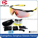 Highly Detachable Workshop Welding and Cutting Safety Glasses Durable Frame with 5 Interchangeable Lenses Sport Goggles