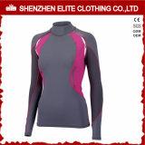 Long Sleeves Women Rash Guards Swimsuits (ELTRGI-33)