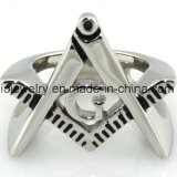 316L Stainless Steel Masonic Ring Jewelry
