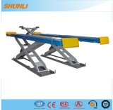4tons Double Hydraulic Scissor Lift with Rolling Car