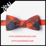 Mens Wholesale Custom Cotton Orange Bowtie