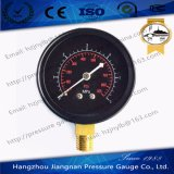 70mm Black Dial & Housing General Pressure Gauge with Range of 0~6MPa