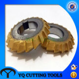 HSS 60 Degree Bevel Milling Cutter with Tin Coating