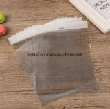 Transparent BOPP Plastic Gift Bag with Head Block / LDPE Rectangle Transparent Clear Cello Bag with Self-Adhesive