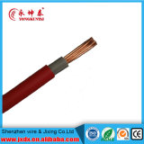 Double PVC Insulated Copper Electric 4 AWG Cable