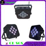 9X15W Wireless DMX Battery Power LED Flat PAR Light