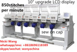 6 Head Cap Tshirt Apparel Sewing and Embroidery Machine