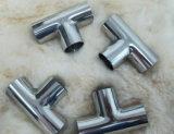 Sanitary Stainless Steel Long Welded Tee (DN15-200 & 1/2′′-8′′)