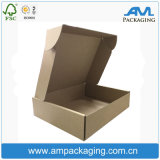 Brown Rigid Corrugated Paper Cheap Wholesale Shipping Box