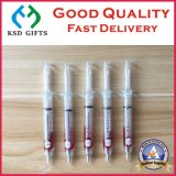 Transparent Needle Tubing Pens with Print Your Logo