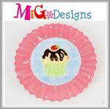 High Quality Ceramic Cake Design Plate and Dish