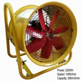 Industrial Exhaust Fan with Wheels