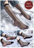 Black Fishnet Stockings in Spring and Summer for J0516