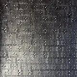 Geometric Design PVC Artificial Leather for Handbag Bag Furniture