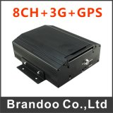 8 Channel Car Mobile DVR 3G & GPS Function, 2tb HDD Memory or 128GB SD