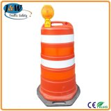 Plastic Temporary Security Traffic Crash Barrels