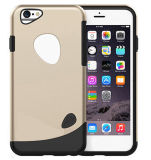 Slicoo Dual-Layer TPU Rubber Protective Cover Case for iPhone 6