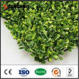 Decorative Artificial Plastic Mat Grenn Leaf Artificial Leaves