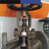 Ci/Di/Wcb/Lcb/Ss304/Ss316 Flanged Ends Bellow Sealed Globe Valve