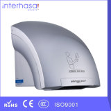 Wall-Mounted Popular Colorful Good Quality 1800W ABS Mini Automatic Toilet Bathroom Hand Dryer