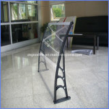 Clear Transparent Weather Resistant 2.5mm/3mm Grade a Plastic Awning