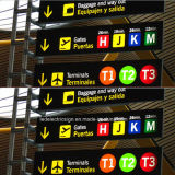 Channel LED Road Signs at The Airport
