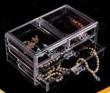 Clear Plexiglass Acrylic Retail Makeup Jewellery Display Case