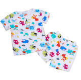 Customize Unisex Lovely Combed Cotton Comfortable Print Children Garment