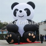 Attactive Inflatable Kongfu Running Panda Bear Character