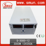 3000W 12VDC Single Output Switching Power Supply (S-3000 With Selected Input)