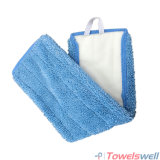 Blue Microfiber Floor Flat Wet Mop