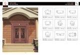Aluminum Extruded Profiles of Metal Door