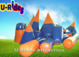 Inflatable Paintball Bunker Game