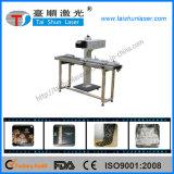 10W 30W 50W CO2 Plastic Laser Marking Machine for PP PE Bottle Code