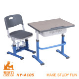 Adjustable Student Study Desk and Chair/School Furniture