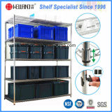 Adjustable Chrome Metal Storage Wire Shelving Rack for Factory/Warehouse