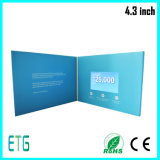 LCD Video Card TFT Video Brochure LCD Book for Promotion