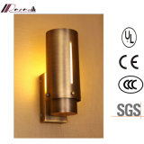 Zhongshan Factory Antique Brass 18W LED Wall Lamp