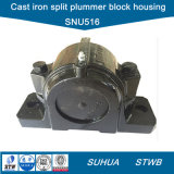 Two-Bolt Cast Iron Split Plummer Block Housing (SNU516)