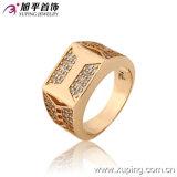 Latest Design Fashion Exquisite Cubic Zircon Jewelry Men Ring