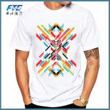 Custom Record Printed Men T Shirt Short Sleeve Casual