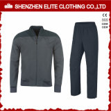 Fashion High Quality Grey Tracksuit Bomber Jacket and Pant (ELTTI-22)