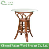 Round Rattan Table for Bar