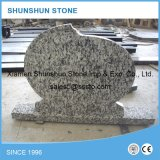 High Quality Hungarian Spray White Granite Headstones