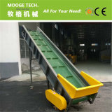 Belt conveyor for plastic recycling machine