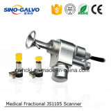 Fractional CO2 Machine Part Js1105 Scan Head for Beauty Equipment