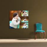 Custom Mounted Life Photos Canvas Prints for Household