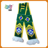 Factory Price Quality Custom Printed Soccer Team Scarves (HYS-AF036)