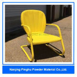 Yellow Powder Coating and Paint for Chairs Use